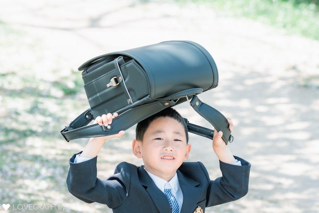入学式 | 家族写真(ファミリーフォト)