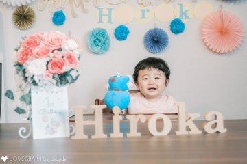 H's 1st  BIRTHDAY | 家族写真(ファミリーフォト)