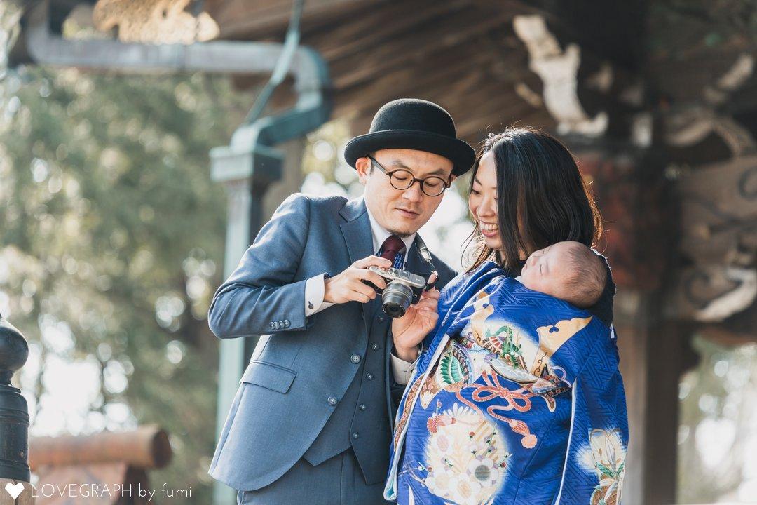 ゆうお宮参り | 家族写真(ファミリーフォト)