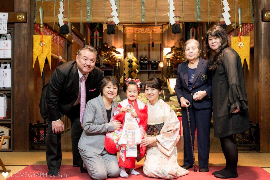 Honoka 七五三 | 家族写真(ファミリーフォト)