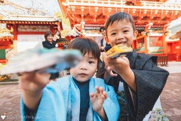 753 はるき&いつき 2021 | 家族写真(ファミリーフォト)