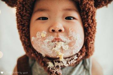 ichi 1st birthday | 家族写真(ファミリーフォト)