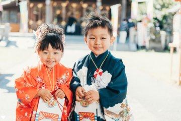 三歳、五歳 七五三 | 家族写真(ファミリーフォト)