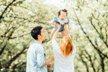 結七1歳誕生日〜マタニティフォトから1年〜   家族写真(ファミリーフォト)