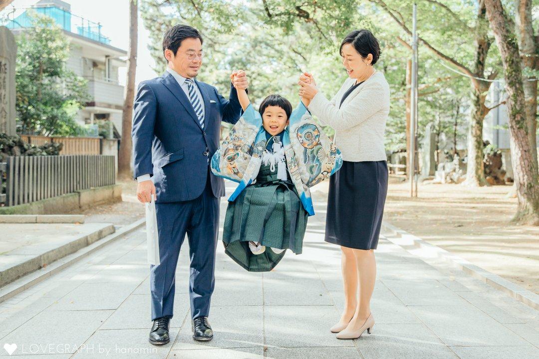 がくき 七五三の参拝 | 家族写真(ファミリーフォト)