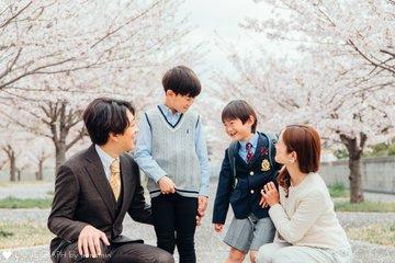 れお小学校入学 | 家族写真(ファミリーフォト)