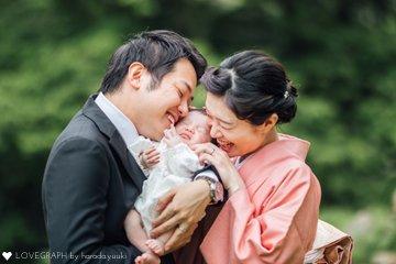 雫お宮参り | 家族写真(ファミリーフォト)