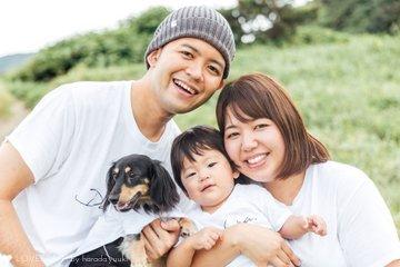 Kanna 1st birthday | 家族写真(ファミリーフォト)