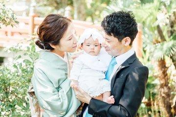 Tsuguhaお宮参り   家族写真(ファミリーフォト)