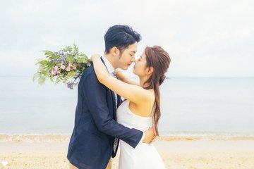 Okinawa wedding photo | 夫婦フォト