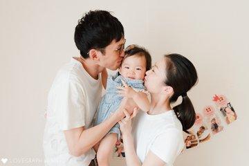 ななお1歳記念 | 家族写真(ファミリーフォト)