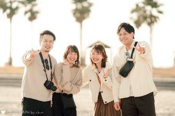 Koji × Ayaka × Kota × Mami | カップルフォト