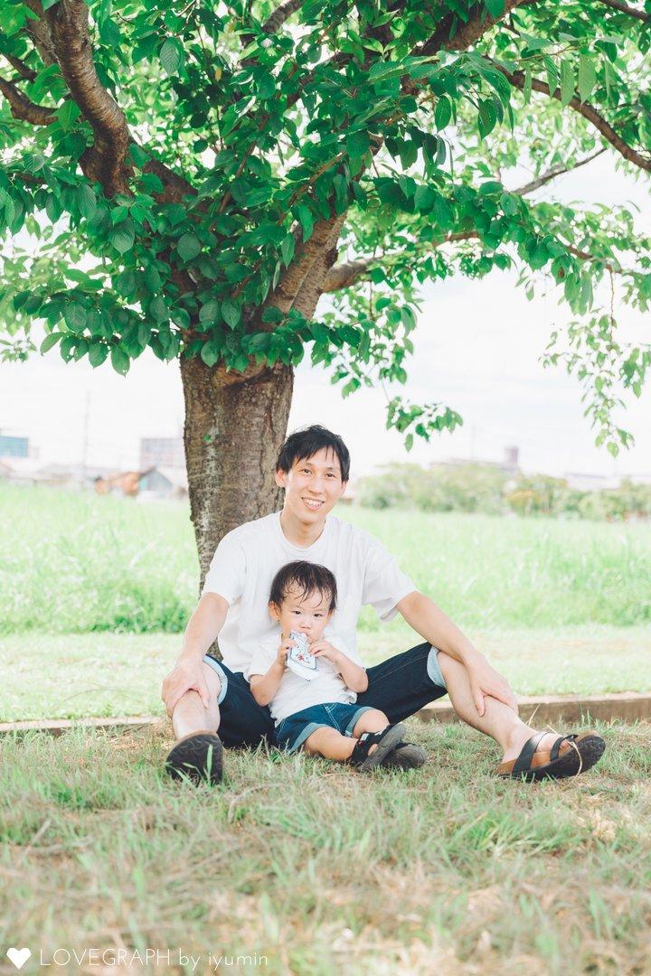 かなた2歳誕生日   家族写真(ファミリーフォト)