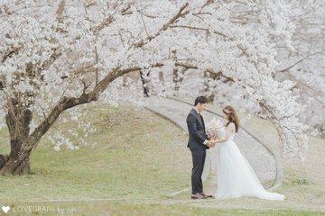 桜前撮り | 夫婦フォト