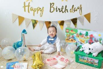 Sousuke 1st Birthday   家族写真(ファミリーフォト)