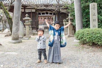 Sousuke 七五三   家族写真(ファミリーフォト)