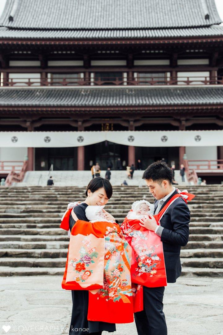 Hironaka Zojoji Temple visit | 家族写真(ファミリーフォト)