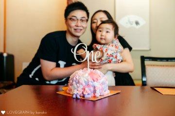 玲依1歳 | 家族写真(ファミリーフォト)