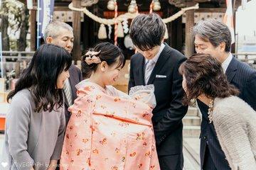 Kae - お宮参り | 家族写真(ファミリーフォト)