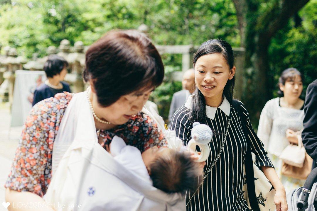 Haruto Shrine visit | 家族写真(ファミリーフォト)
