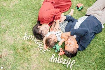 ASAHI 2nd Birthday | 家族写真(ファミリーフォト)