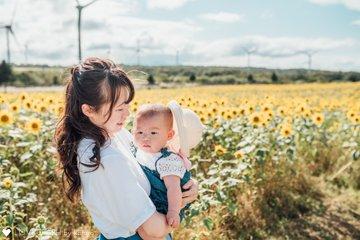 はじめての夏 | 家族写真(ファミリーフォト)