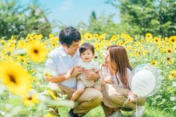 Rikuto 1st Birthday | 家族写真(ファミリーフォト)