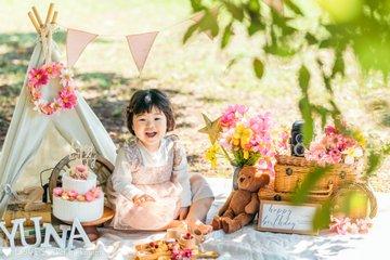 yuna 2nd Birthday | 家族写真(ファミリーフォト)