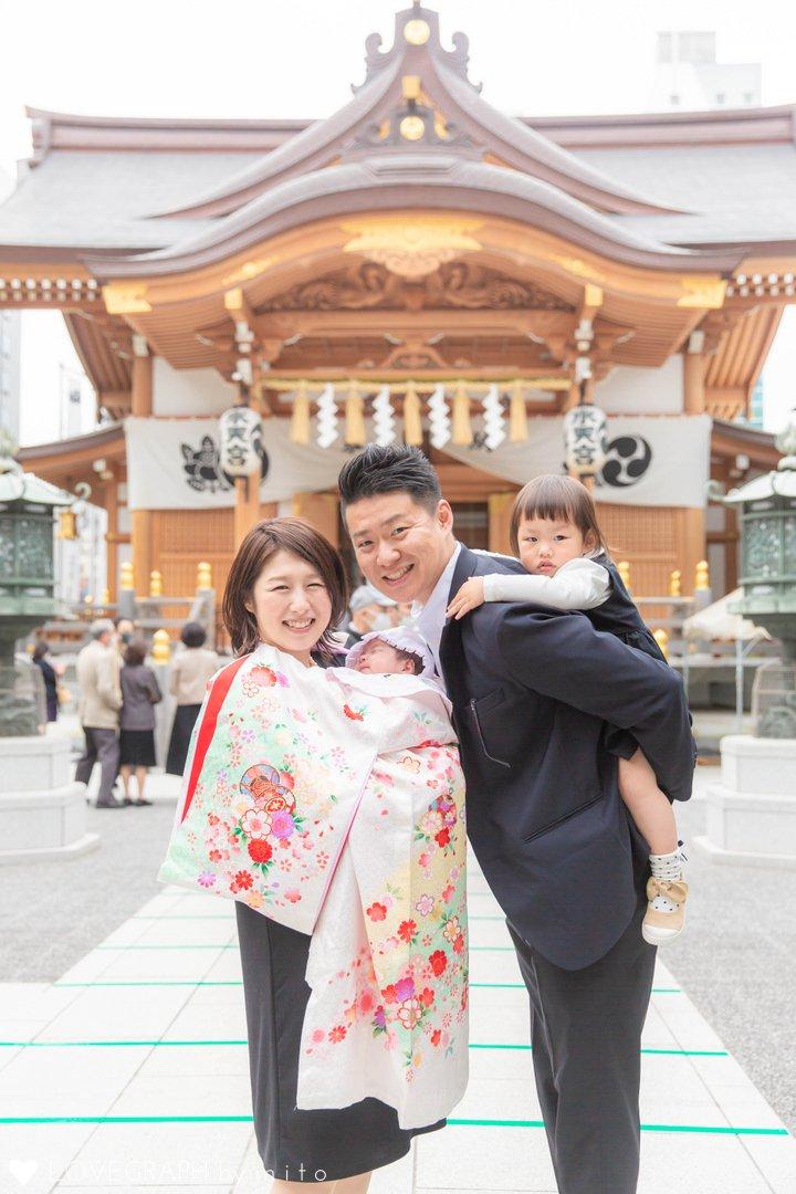 Mio お宮参り | 家族写真(ファミリーフォト)