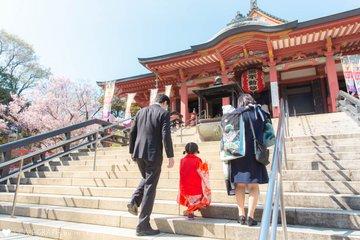 Misaki七五三 & Koutarouお宮参り | 家族写真(ファミリーフォト)
