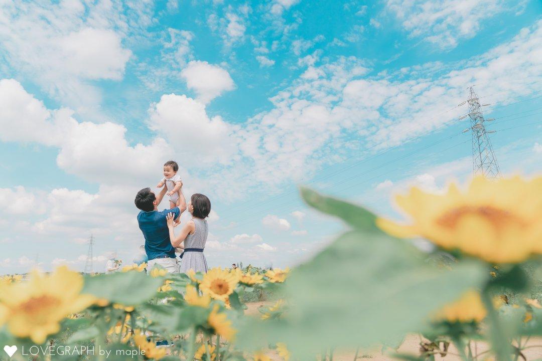 1st birthday 🌻   家族写真(ファミリーフォト)