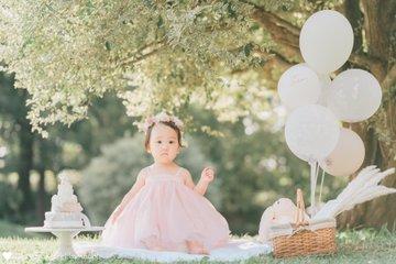 Kanon's  1st birthday♡ | 家族写真(ファミリーフォト)