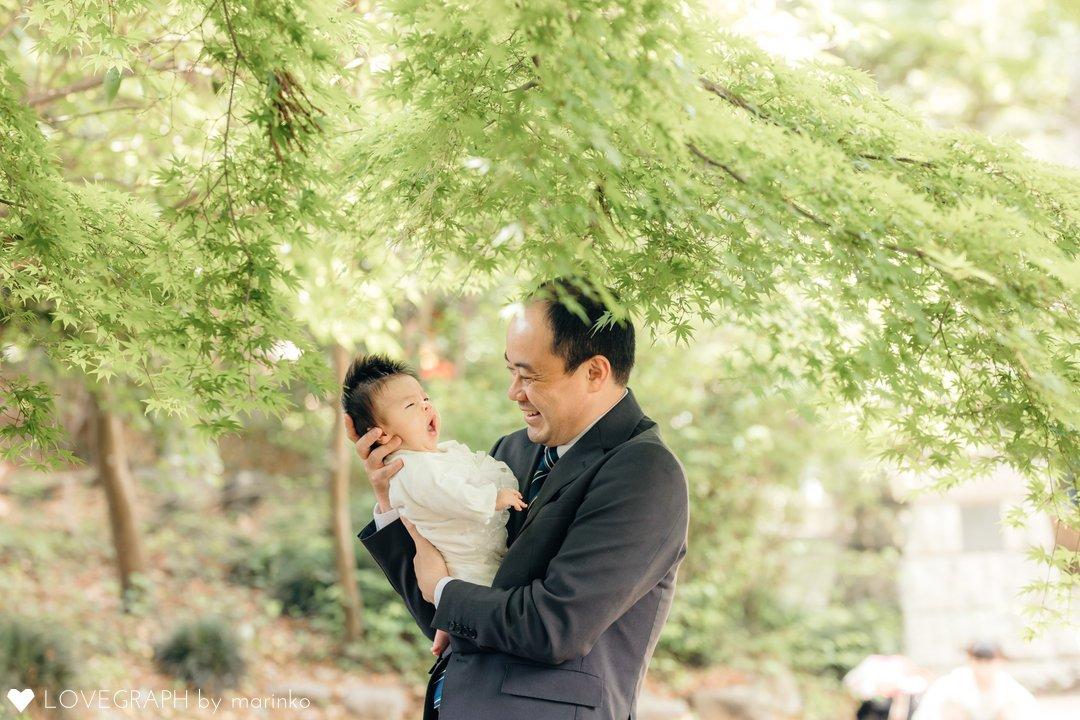 honokaお宮参り   家族写真(ファミリーフォト)