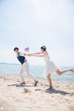 Keisuke×Shiori at 水晶浜 | カップルフォト