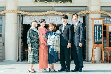 お宮参り 20201117 | 家族写真(ファミリーフォト)