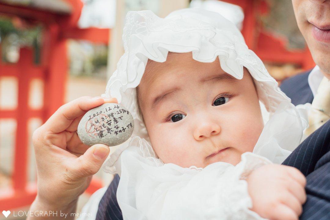 ICHIKAお宮参り | 家族写真(ファミリーフォト)