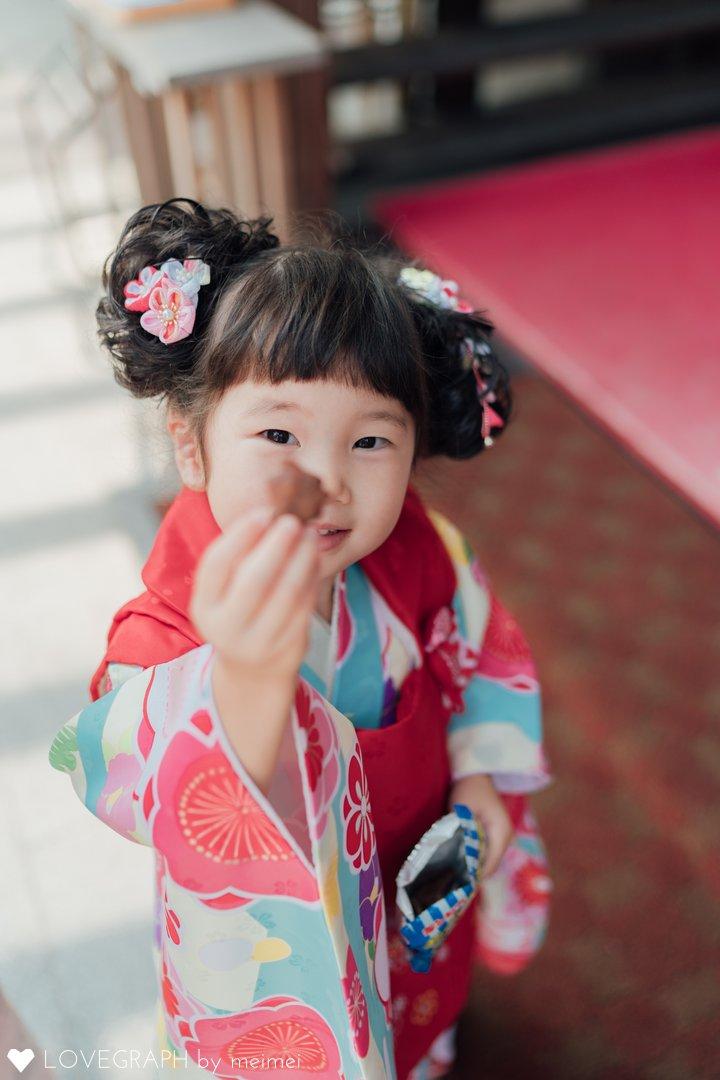 ゆうな3歳♡七五三 | 家族写真(ファミリーフォト)
