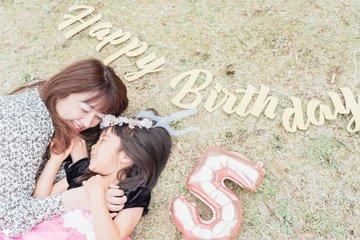 5歳りこbirthday | 家族写真(ファミリーフォト)