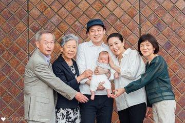 さくや生後2ヶ月 | 家族写真(ファミリーフォト)