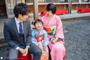 こっちゃん七五三 | 家族写真(ファミリーフォト)