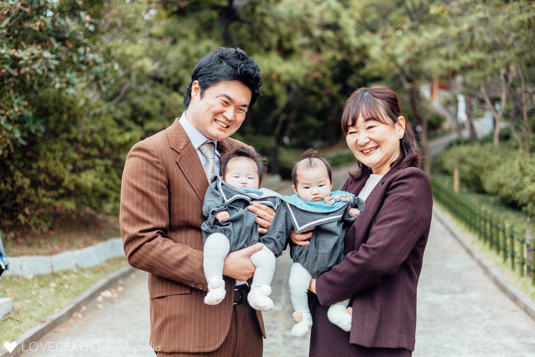 Kou&Yuzu Twins | 家族写真(ファミリーフォト)