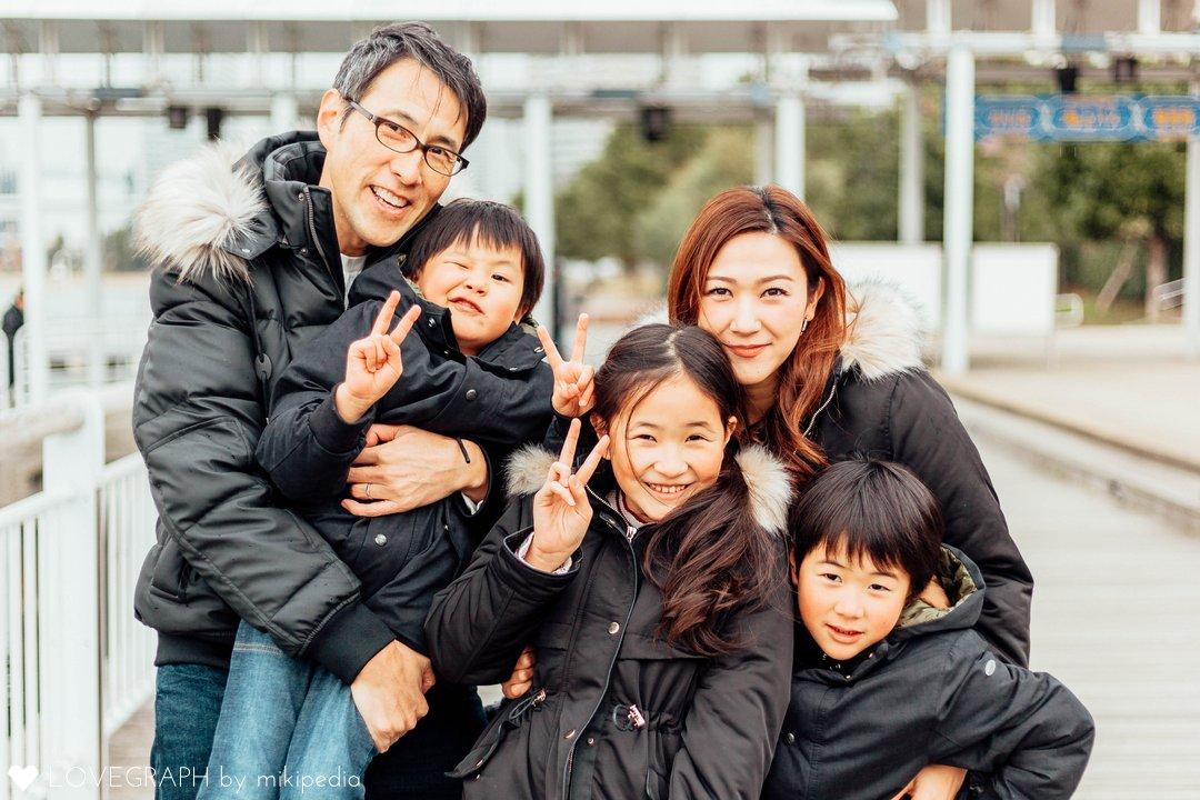 2018 Winter - M's Family | 家族写真(ファミリーフォト)