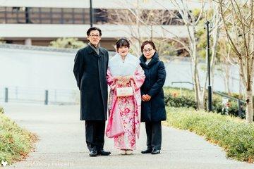 夕海成人式 | 家族写真(ファミリーフォト)