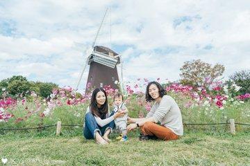 kazu ×ema結婚2年、haruma生後6ヶ月 | 家族写真(ファミリーフォト)