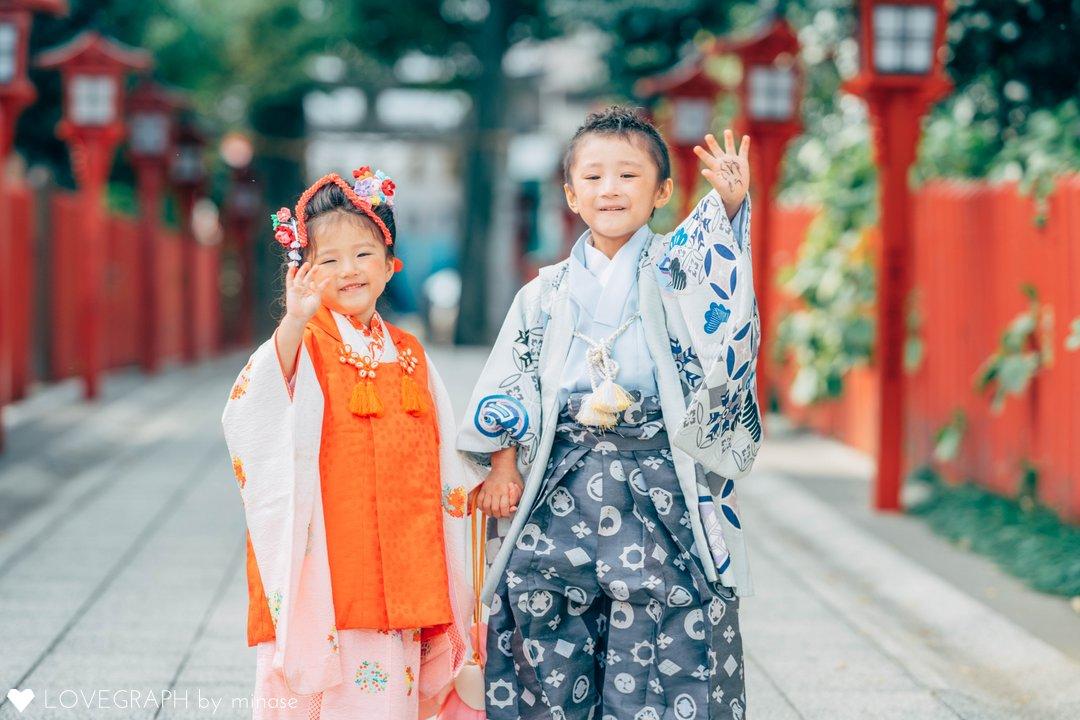 Yusei  Saku  Aoi | 家族写真(ファミリーフォト)