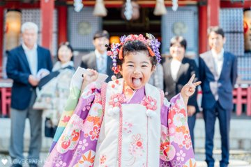 杏幸 & 軸 | 家族写真(ファミリーフォト)