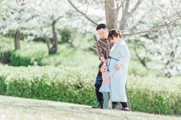 春の思い出 | 家族写真(ファミリーフォト)