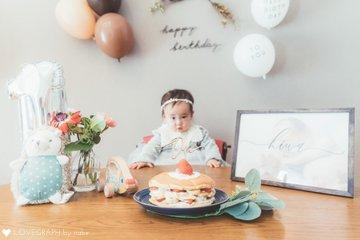 H First Birthday! | 家族写真(ファミリーフォト)