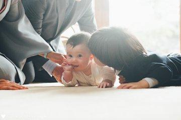 Eijiro's お宮参り | 家族写真(ファミリーフォト)