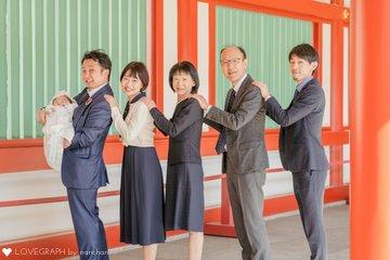お宮参り2021 | 家族写真(ファミリーフォト)
